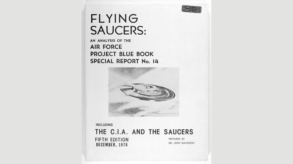 The Air Force's Project Blue Book Special Report No. 14 remains the primary source of the Air Force's findings related to UFOs in the US (Credit: Mary Evans Picture Library/Alamy)