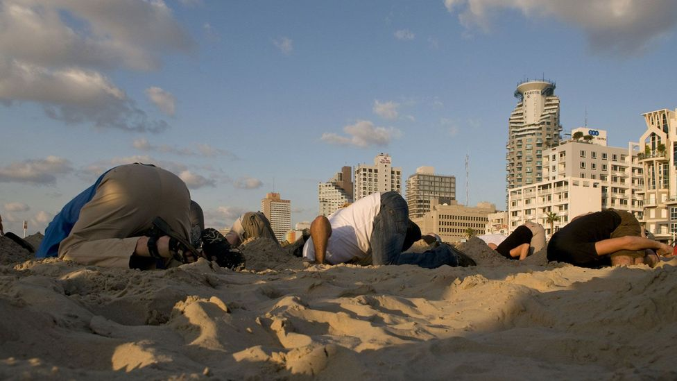 It's true: we would rather hide our heads in the sand than listen to evidence questioning our beliefs, even if the facts are solid (Credit: Getty Images)