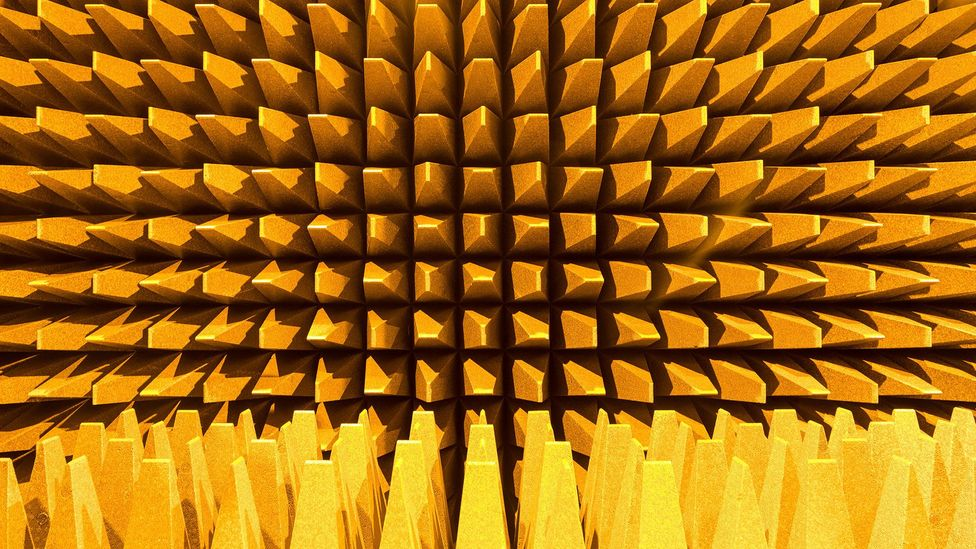 In an anechoic chamber at Harvard University John Cage detected two phantom pitches that appeared to be emanating from inside his own body (Credit: Alamy)