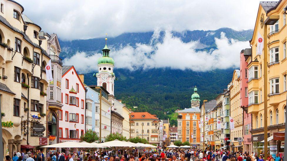 Innsbruck is one of Austria's hidden treasures (Credit: Craig Holmes/Alamy)
