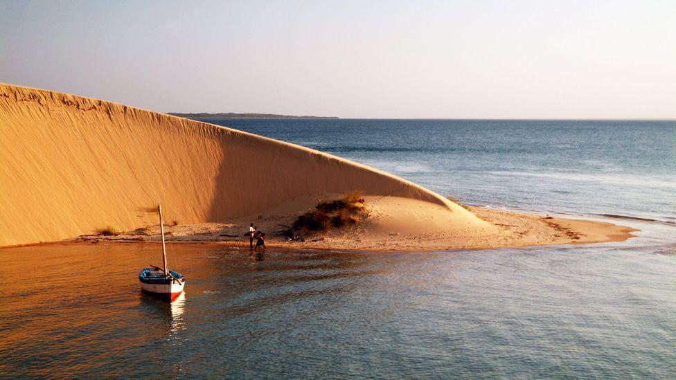 Bazaruto Archipelago, Mozambique, has beautiful, unusual sand dunes (Credit: Zute Lightfoot/Alamy)