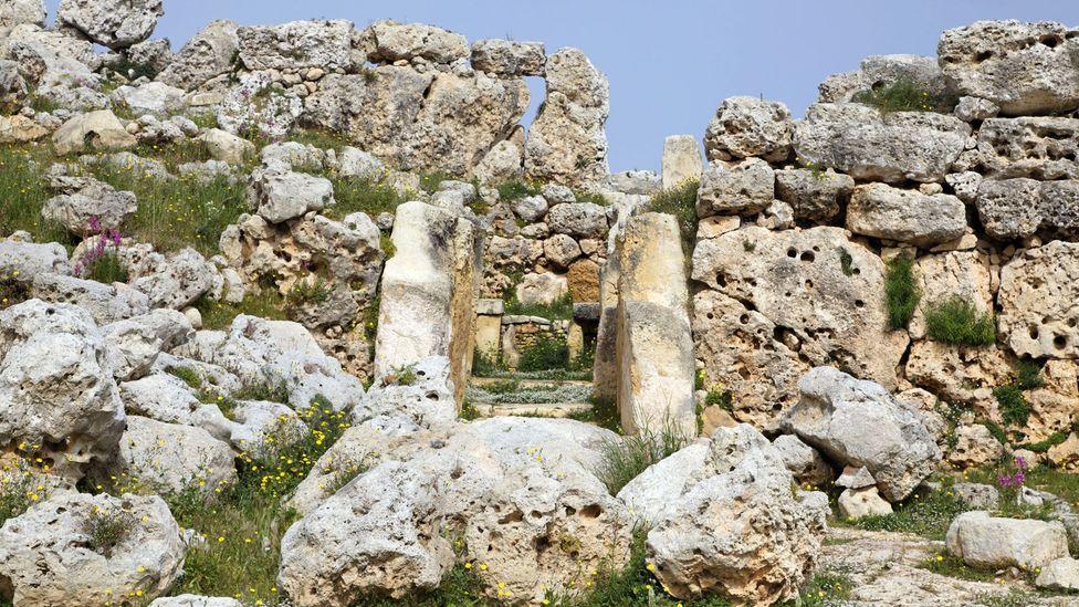 Malta's megalithic temples were built between 5000 and 7000BC (Credit: Bildagentur Geduldig/Alamy)