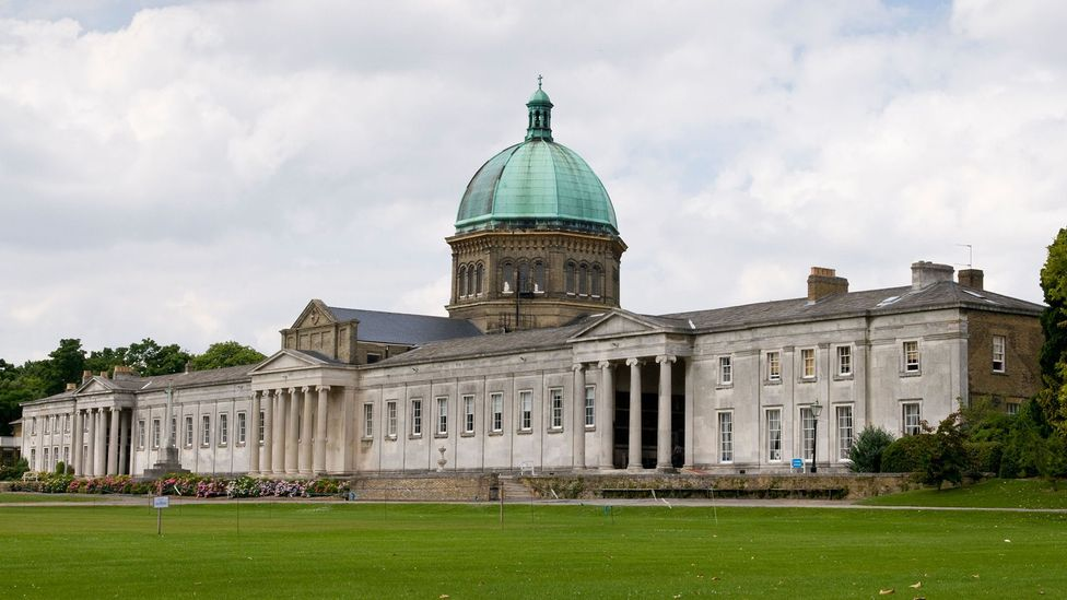 Haileybury College, designed by William Wilkins in the early 19th Century, still operates as a school today (Credit: Julia Catt Photography/Alamy)