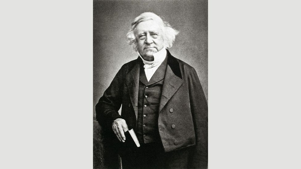 Thomas Love Peacock, Company official and poet, shown here in 1857 (Credit: Granger, NYC./Alamy)