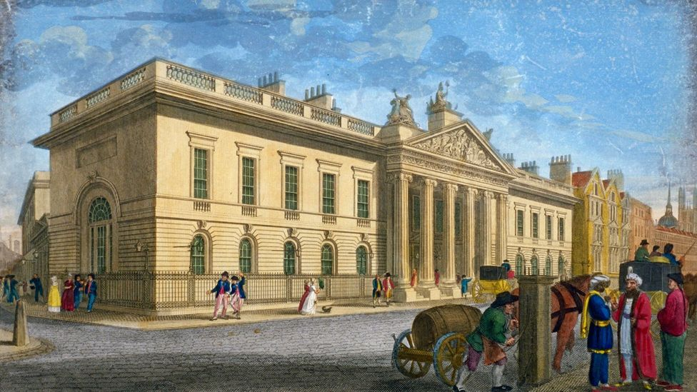 The East India House in 1802 (Credit: Heritage Image Partnership Ltd/Alamy)