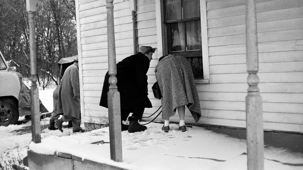 """The heinous crimes of Ed Gein attracted a """"pilgrimage"""" of tourists who flocked to view the place where the murders were committed (Credit: Getty Images)"""