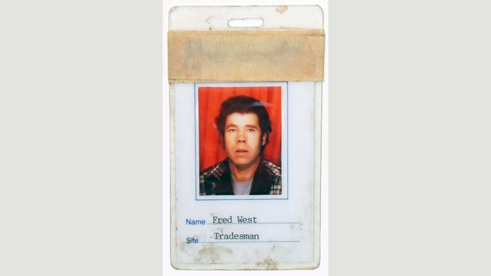 Among Scouller's collection, you can find Fred West's ID badge, issued by the local council. (Credit: Steven Scouller)