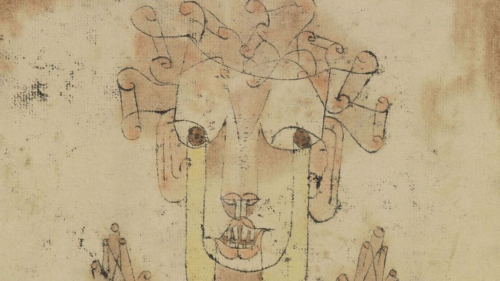 Paul Klee, Angelus Novus, 1920 (Credit: The Israel Museum, Jerusalem)