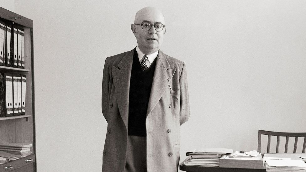 After World War Two, Benjamin's possessions – including his beloved Angelus Novus – passed to the philosopher Theodor Adorno (Credit: Getty Images)