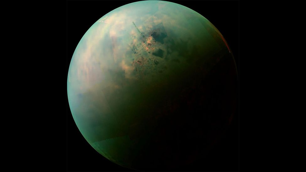 The first and only spacecraft to land on Titan was the European Huygens probe (Credit: NASA/JPL-Caltech/University of Arizona/University of Idaho)
