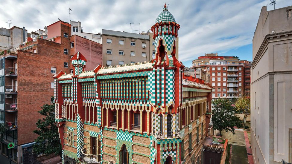 Eight out of 10 tourists in Barcelona come for its architecture, principally Gaudí's (Credit: Casa Vicens/Barcelona 2016/Pol Viladoms)