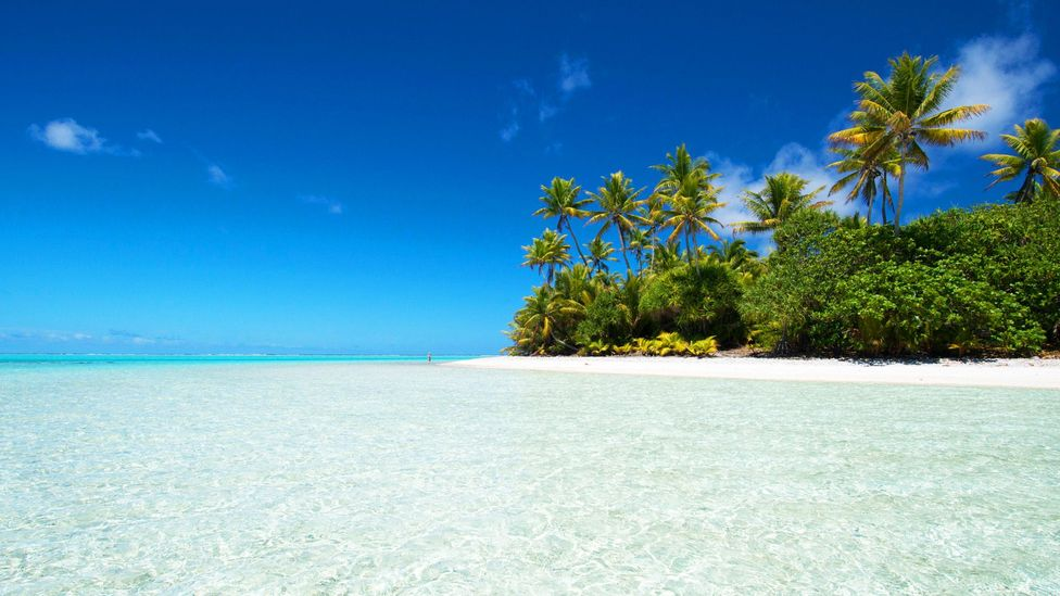 Palmerston is remote island in the South Pacific (Credit: Cindy Hopkins/Alamy)