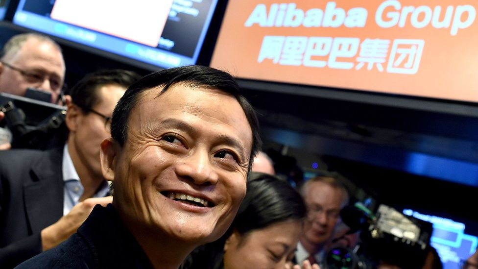 Many look to e-commerce giant Alibaba, and founder Jack Ma, as an example of Chinese entrepreneurial success (Credit: Getty Images)