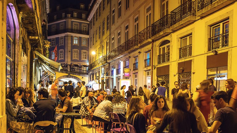 There's a lively bar and club scene in the city centre (Credit: Turismo de Lisboa.com)