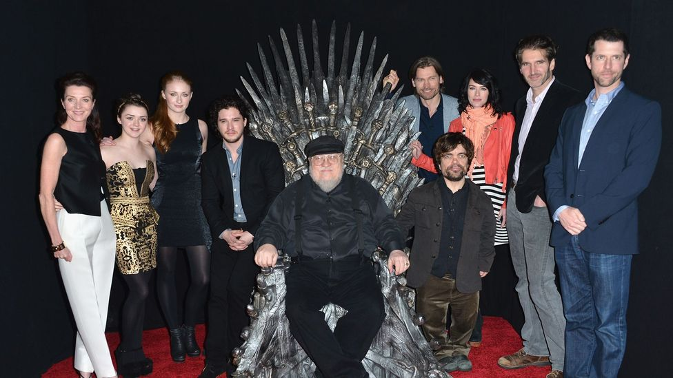George RR Martin has bowed out of public appearances and TV writing duties to focus solely on The Winds of Winter (Credit: Alberto E Rodriguez/Staff/Getty Images)