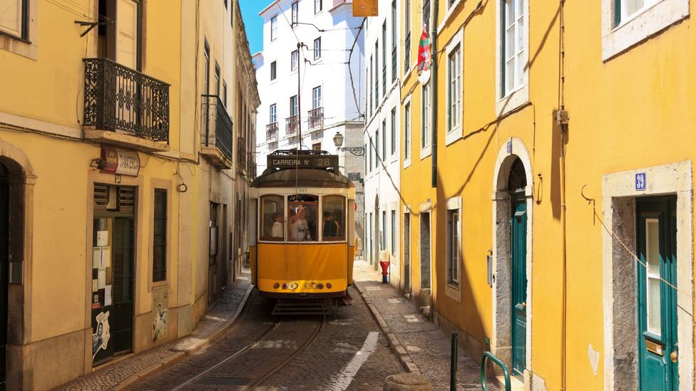 Trams criss-cross the entire city and are a great way to get up some of the steeper hills (Credit: Alamy)