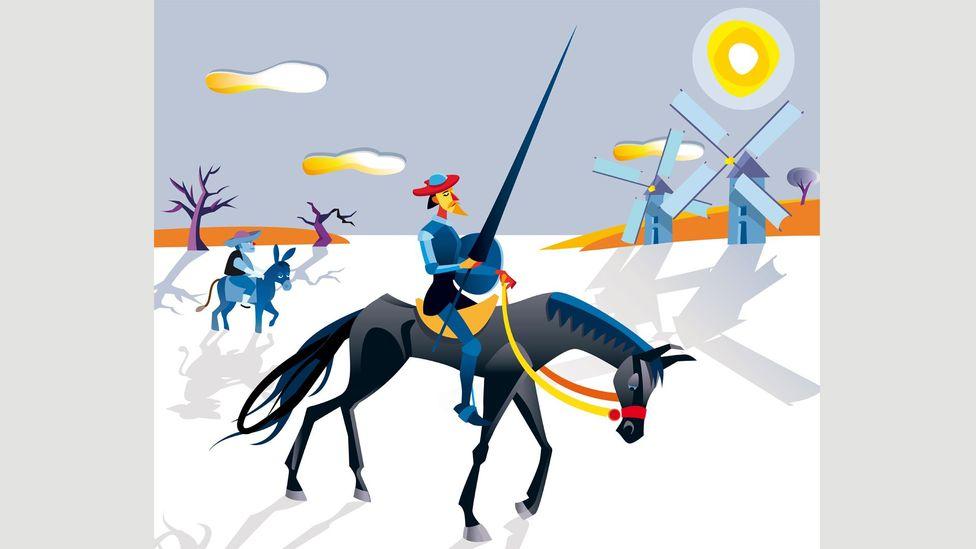 """According to María Antonia Garcés, Don Quixote represents a """"figurative incarceration"""", imprisoned by his delirium (Credit: Jesús Sanz/AlamyStock Photo)"""
