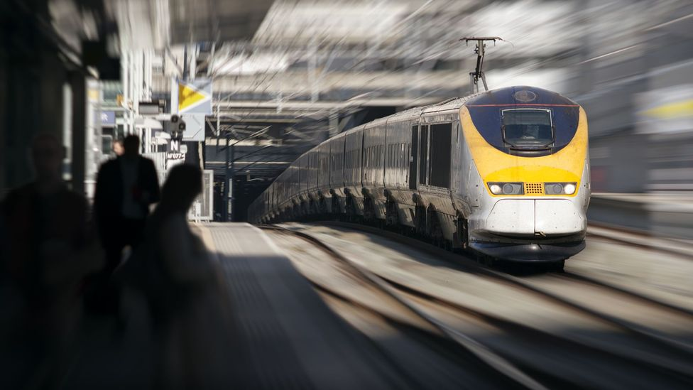 While train data is protected, you can still tell when trains are transmitting information (Credit: Getty Images)