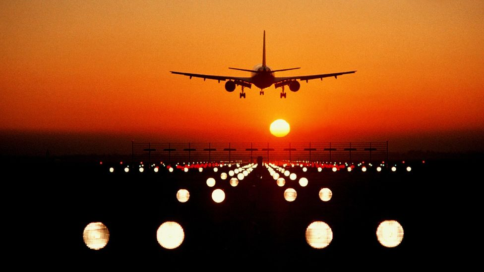 Planes are easy to track, but there can often be electromagnetic interference around airports (Credit: Getty Images)