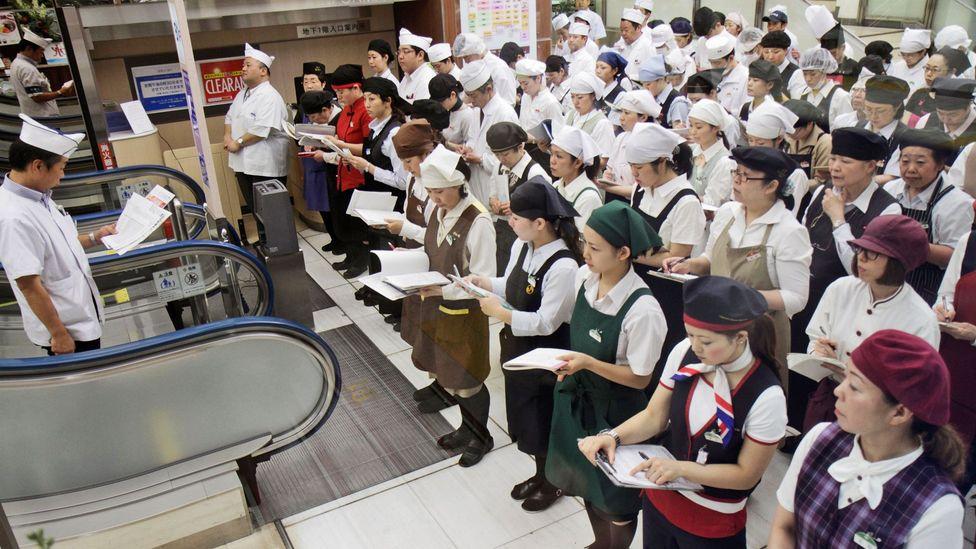 In Japan, meetings start promptly, stay on schedule and have an agenda. (Credit: Alamy)
