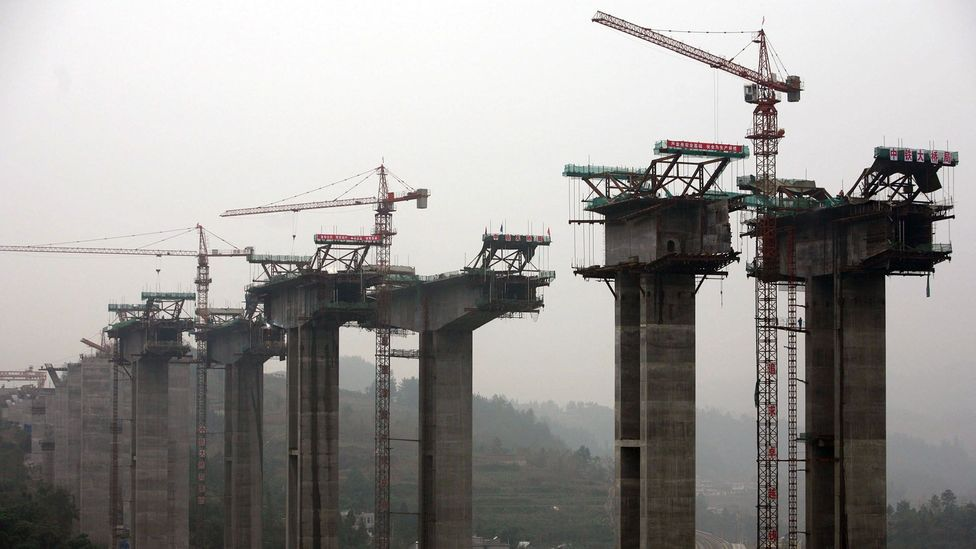 China's construction boom means it needs a huge amount of sand – it currently accounts for a fifth of the world's imports (Credit: Getty Images)