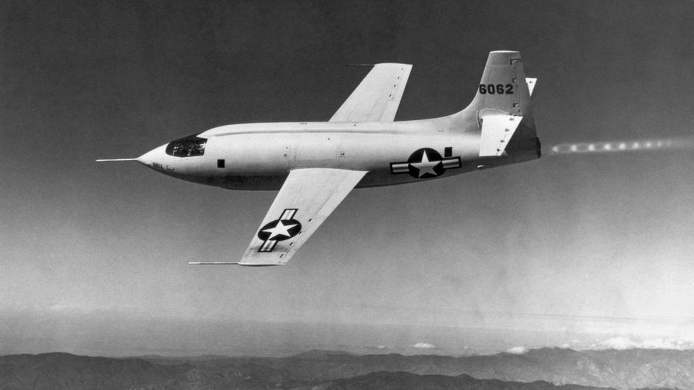 Chuck Yeager's record-breaking flight in the Bell X-1 was helped due to the information gathered by the high-speed dives (Credit: Getty Images)