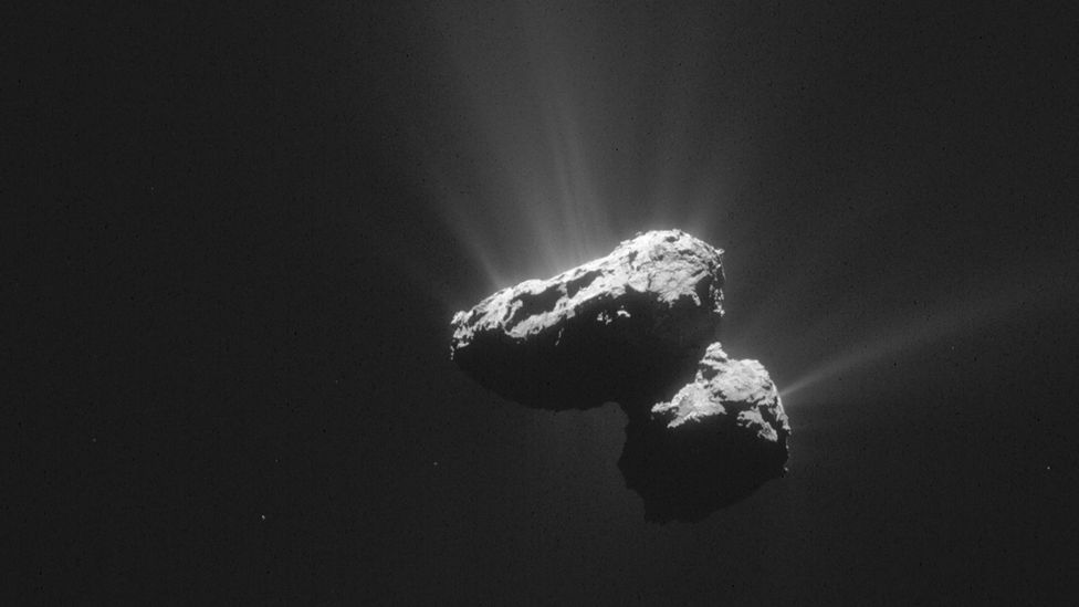 The successful mission to comet 67P/Churyumov-Gerasimenko shows that we could intercept an asteroid (Credit: Science Photo Library)