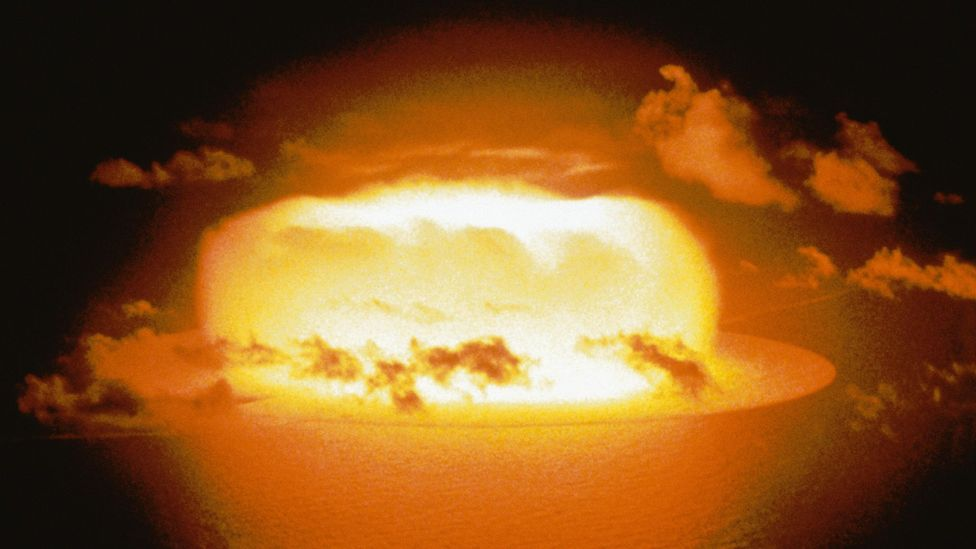 A Didymos-size rock hitting the Earth could cause as much damage as a multi-megaton nuclear bomb (Credit: Getty Images)