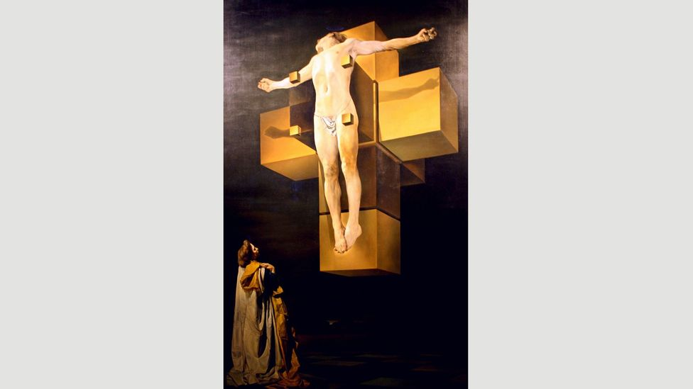 By breaking out of three dimensions, Crucifixion (Corpus Hypercubus) found new meaning in a traditional biblical scene (Credit: World History Archive/AlamyStock Photo)