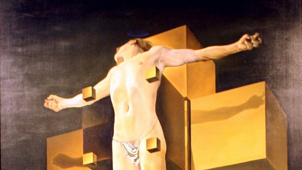 Crucifixion (Corpus Hypercubus) (Credit: World History Archive/AlamyStock Photo)