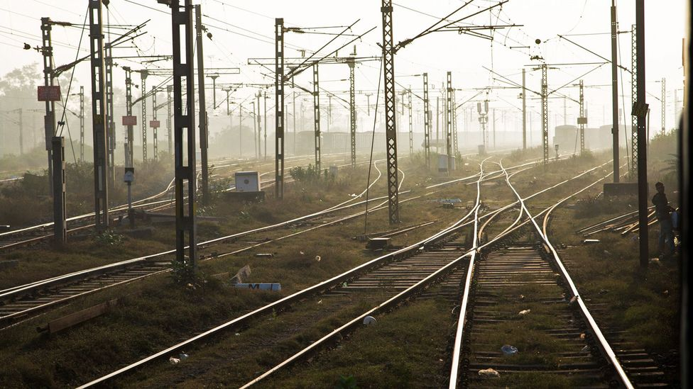 Indian Railways has 115,000km of track over a route of 65,808km (Credit: Ed Hanley)
