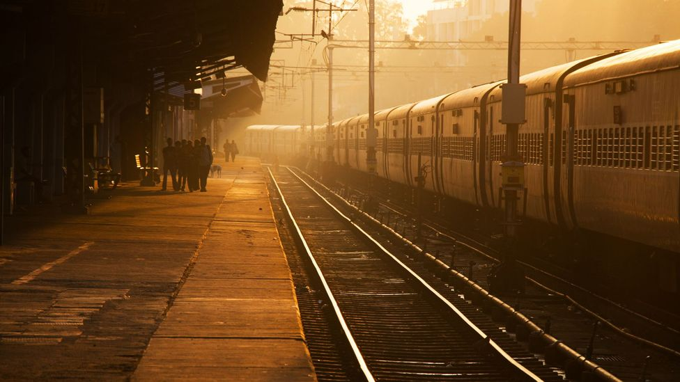 The train passed through destinations such as Trivandrum Central, Kerala (Credit: Ed Hanley)