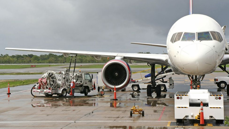 The network brings aviation fuels from refineries right to where airliners are parked (Credit: Getty Images)