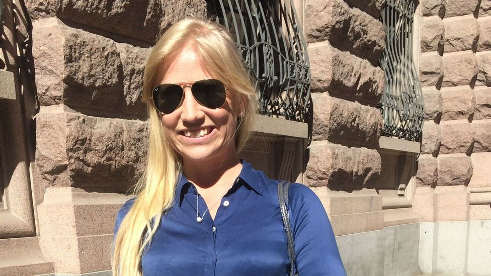 Elise Lilliehook, recruiter and Stockholm resident thinks making it easier to get first-hand rental contracts could be one solution to the crisis. (Credit: Maddy Savage)