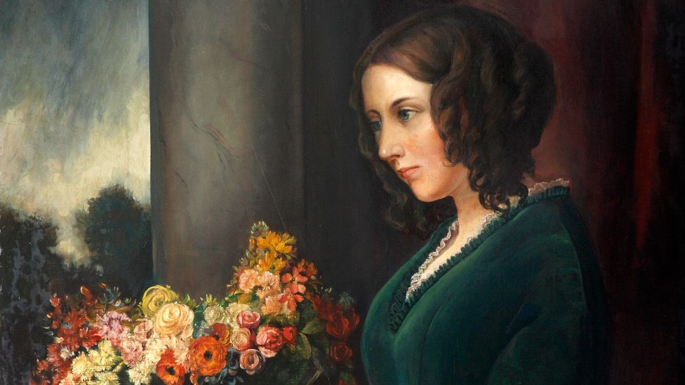 Detail from Daniel Maclise's 1847 painting of Catherine (Credit: Charles Dickens Museum)