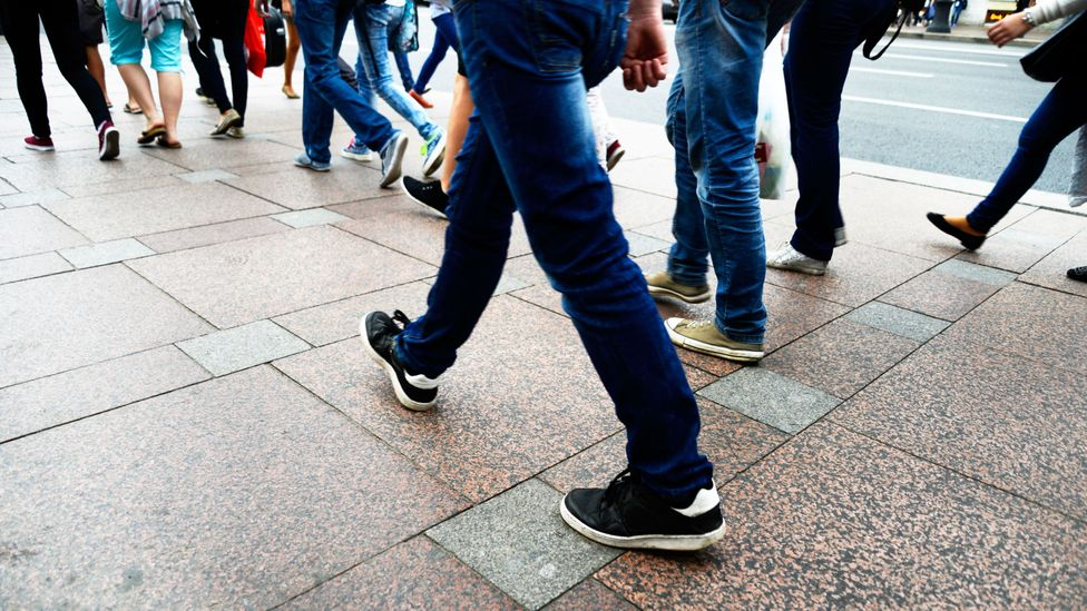 Most of us tend to make very similar interpretations of personalities based on walking style (Credit: iStock)