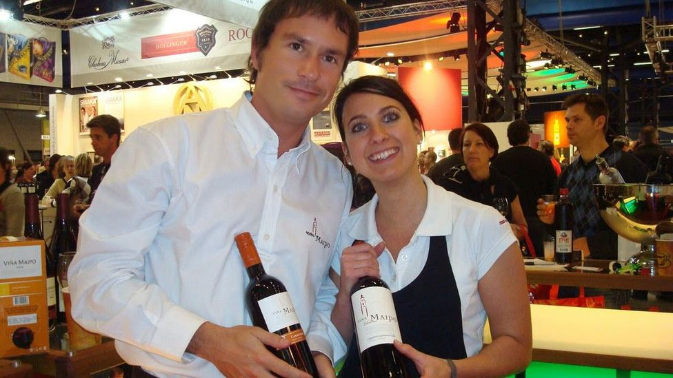 Felipe Neira's job involves meeting with Chilean winemakers to develop new lines for Europe. (Credit: Felipe Neira)