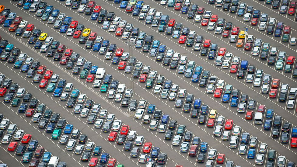 Simple tasks can be difficult with aphantasia - such as finding where you parked your car (Credit: Getty Images)