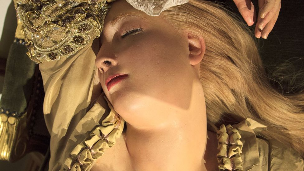 The Sleeping Beauty (Credit: Madame Tussauds Archives, London. Photo Joanna Ebenstein)