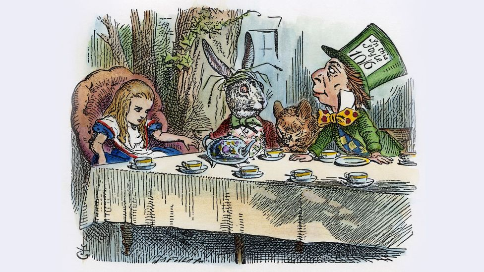 Carroll's stories have been adapted for the screen many times – the latest is Disney's Alice Through the Looking Glass with Johnny Depp as the Mad Hatter (Credit: Alamy)