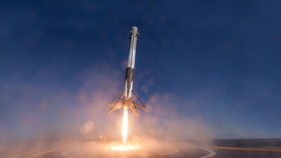 SpaceX has recently successfully recovered rockets on a floating platform (Credit: Getty Images)