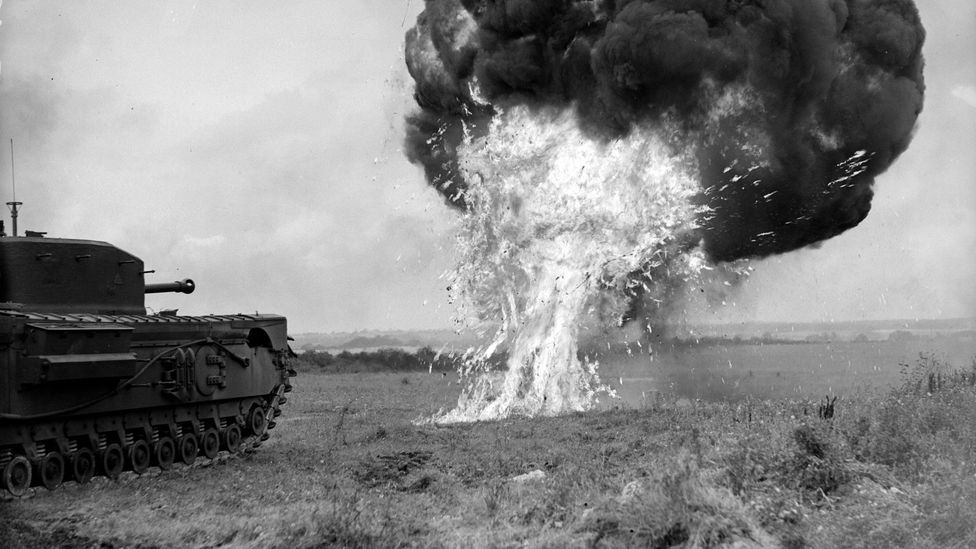 The Crocodile was a Churchill armed with a flamethrower - a terrifying weapon (Credit: Getty Images)