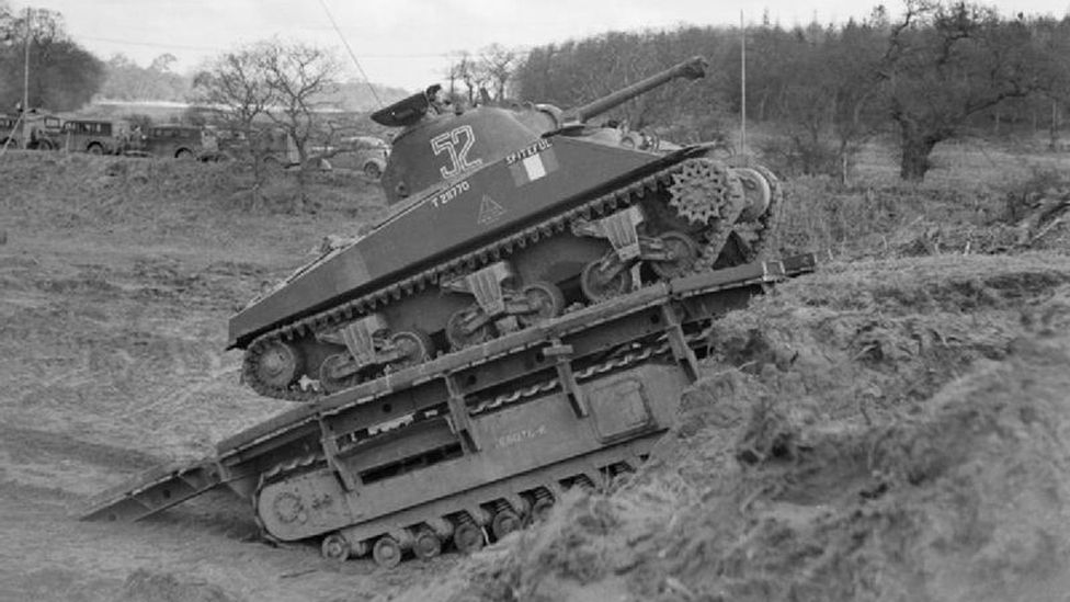 The Ark could be used as a ramp for other tanks to drive over (Credit: Crown Copyright/Wikipedia)