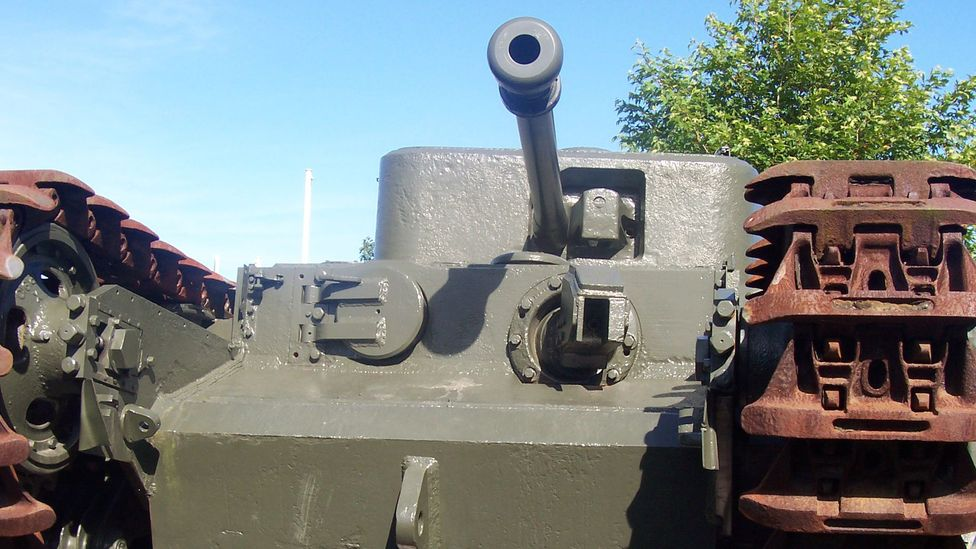 """Many of Hobart's """"Funnies"""" were modifications to the Churchill tank (Credit: Kingnothing/Wikipedia)"""