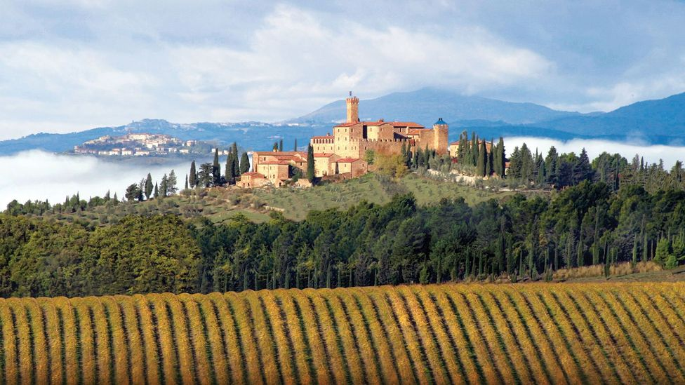 The award-winning Castello Banfi il Borgo wouldn't have been possible if Mariani-May hadn't admitted she made a mistake (Credit: Castello Banfi il Borgo)