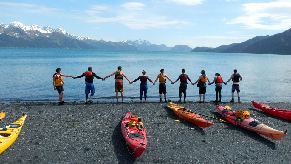 Gould's company provides immersive, engaging trips (Credit: Kayak Adventures Worldwide)
