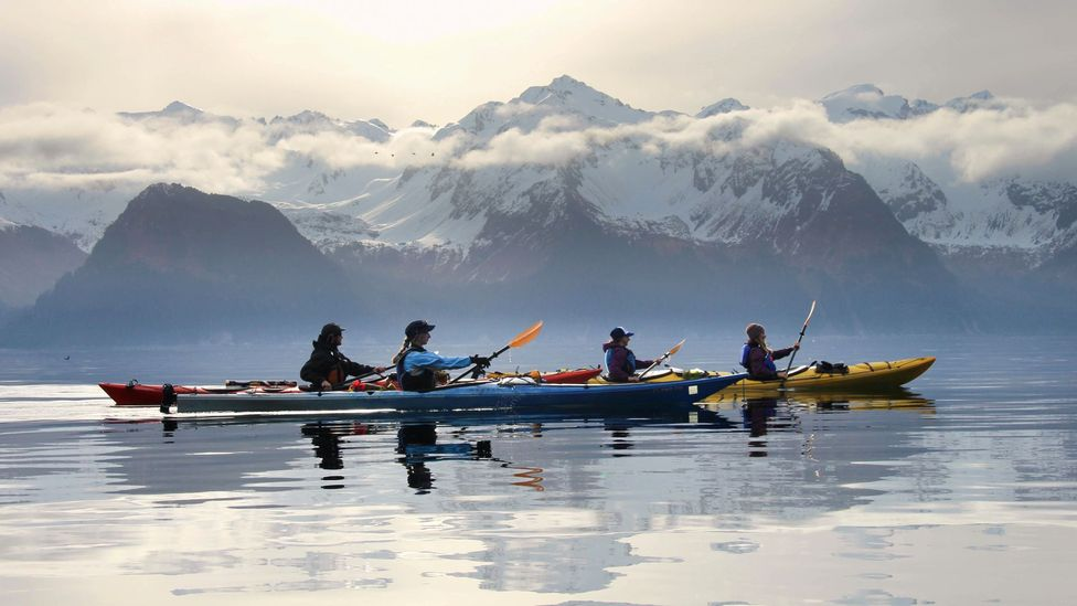 In Kenai Fjords, the water can be incredibly calm (Credit: Kayak Adventures Worldwide)