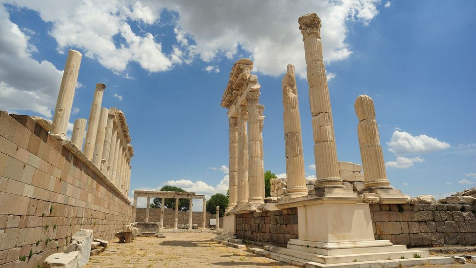 We know more about the glittering capital of Pergamon in western Turkey than any other Hellenistic city (Credit: Alamy)