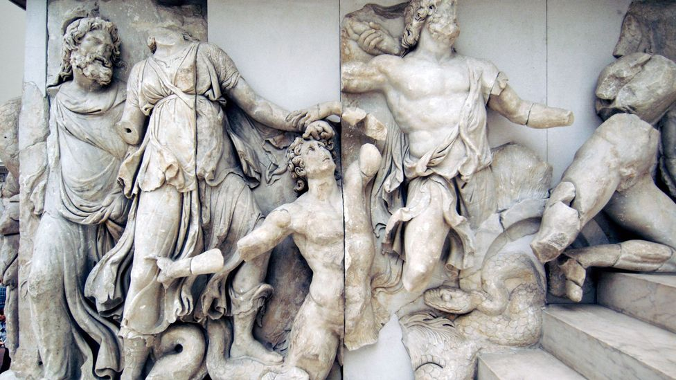 Above all monuments, Pergamon's Great Altar expressed the splendour of the Attalids (Credit: Alamy)