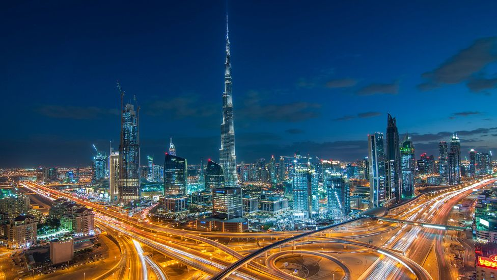 Dubai is much more like London or New York, where people are always on the go. (Credit: Umar Shariff Photography/Getty Images)